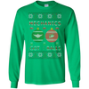 Image of Mechanics Got Balls Ugly Sweater Gildan Unisex LS Ultra Cotton T-Shirt