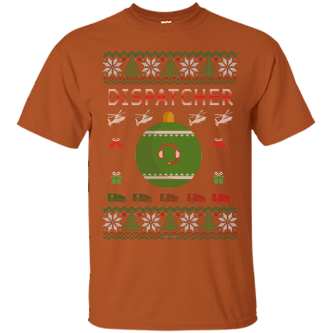 Dispatcher Ugly Sweater Gildan Unisex Ultra Cotton T-Shirt