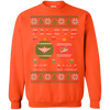 Image of Pilots Got Balls Ugly Sweater Gildan Crewneck Pullover Sweatshirt  8 oz.