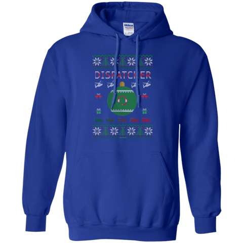 Dispatcher Ugly Sweater Gildan Pullover Hoodie 8 oz.