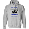 Image of Once You Taste Flight Gildan Pullover Hoodie 8 oz.