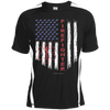 Image of American Firefighter Pride Sport-Tek Colorblock Dry Zone Crew
