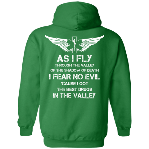 Flight Crew Fear No Evil Gildan Unisex Pullover Hoodie 8 oz.
