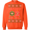 Image of Flight Medics Got Balls Ugly Sweater Gildan Crewneck Pullover Sweatshirt  8 oz.