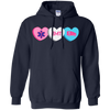 Image of EMT Candy Hearts Gildan Unisex Pullover Hoodie 8 oz.