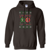 Image of Flight Nurses Got Balls Ugly Sweater Gildan Pullover Hoodie 8 oz.