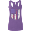 Image of American Firefighter Pride Gildan Ladies' Softstyle Racerback Tank
