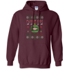 Image of Flight Doc Ugly Sweater Gildan Pullover Hoodie 8 oz.