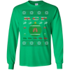 Image of RCP Ugly Sweater Gildan Unisex LS Ultra Cotton T-Shirt