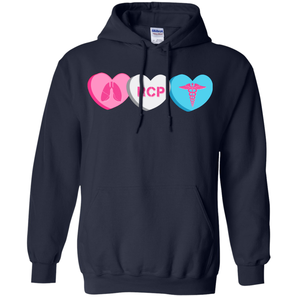RCP Candy Hearts Gildan Unisex Pullover Hoodie 8 oz.