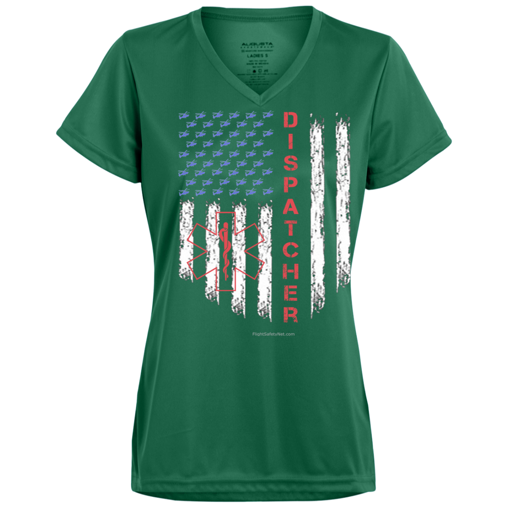 Dispatcher Pride Augusta Ladies' Wicking T-Shirt