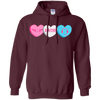 Image of Dispatcher Candy Hearts Gildan Unisex Pullover Hoodie 8 oz.