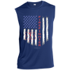 Image of American Firefighter Pride Sport-Tek Sleeveless Performance T-Shirt