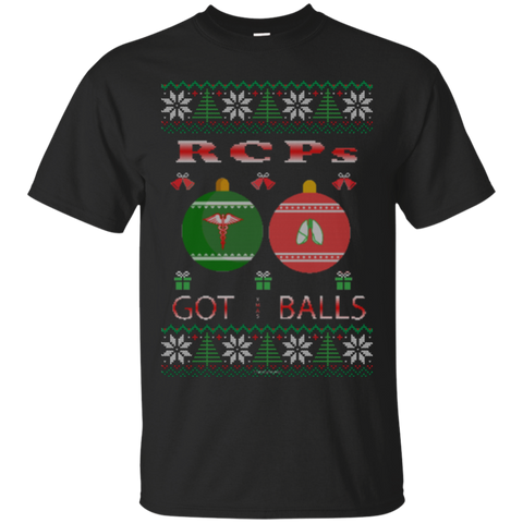 RCPs Got Balls Ugly Sweater Gildan Unisex Ultra Cotton T-Shirt