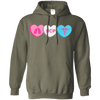 Image of RCP Candy Hearts Gildan Unisex Pullover Hoodie 8 oz.
