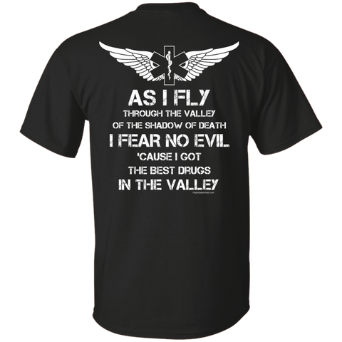 Flight Crew Fear No Evil Gildan Unisex Ultra Cotton T-Shirt