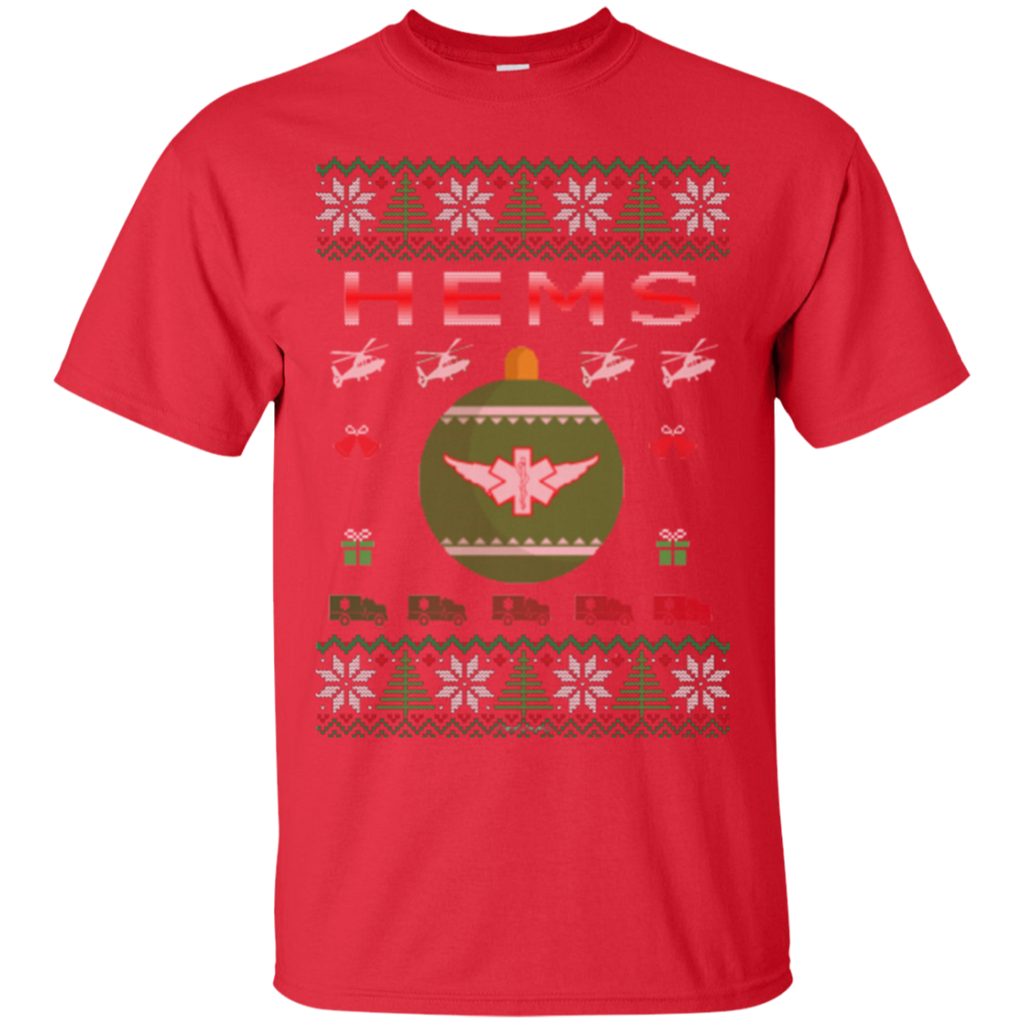 HEMS Ugly Sweater Gildan Unisex Ultra Cotton T-Shirt