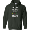 Image of Flyin' With My Peeps Heavyweight Pullover Hoodie 8 oz