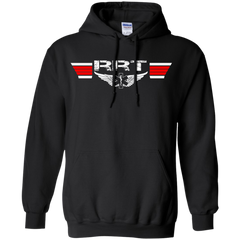 Registered Respiratory Therapist (RRT) Wings Heavyweight Pullover Hoodie 8 oz