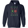 Image of Pilots Got Balls Ugly Sweater Gildan Pullover Hoodie 8 oz.