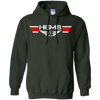 Image of HEMS Wings Heavyweight Pullover Hoodie 8 oz