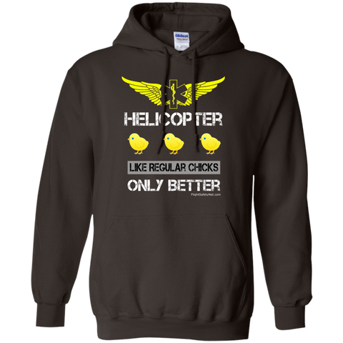 Helicopter Chicks Gildan Unisex Pullover Hoodie 8 oz.