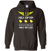 Image of Helicopter Chicks Gildan Unisex Pullover Hoodie 8 oz.