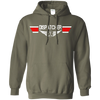 Image of Dispatcher EMS Wings Heavyweight Pullover Hoodie 8 oz