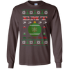 Image of EMT Ugly Sweater Gildan Unisex LS Ultra Cotton T-Shirt