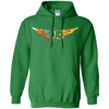 Image of Colorful EMS Wings Heavyweight Pullover Hoodie 8 oz