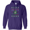 Image of Flight Crew Ugly Sweater Gildan Pullover Hoodie 8 oz.