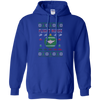 Image of Flight Nurse Ugly Sweater Gildan Pullover Hoodie 8 oz.