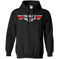 Trauma Doctor EMS Wings Heavyweight Pullover Hoodie 8 oz