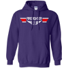 Image of Firefighter EMS Wings Heavyweight Pullover Hoodie 8 oz