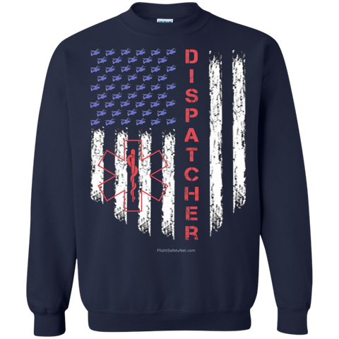 Dispatcher Pride Gildan Crewneck Pullover Sweatshirt  8 oz.