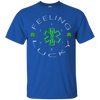 Image of Feeling Lucky Shamrocks and Skulls Gildan Unisex Ultra Cotton T-Shirt