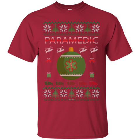 Paramedic Ugly Sweater Gildan Unisex Ultra Cotton T-Shirt