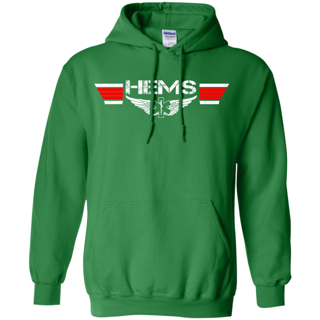 HEMS Wings Heavyweight Pullover Hoodie 8 oz