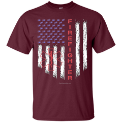 American Firefighter Pride Gildan Ultra Cotton T-Shirt