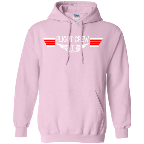 EMS Flight Crew Wings Heavyweight Pullover Hoodie 8 oz