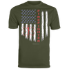Image of American Firefighter Pride Augusta Men's Wicking T-Shirt