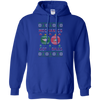 Image of Mechanics Got Balls Ugly Sweater Gildan Pullover Hoodie 8 oz.