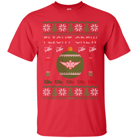 Flight Crew Ugly Sweater Gildan Unisex Ultra Cotton T-Shirt