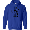 Image of Dabbin EMS Bunny Gildan Unisex Pullover Hoodie 8 oz.