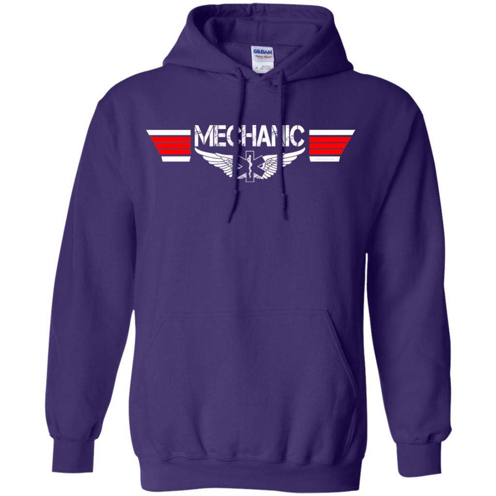 Mechanic EMS Wings Heavyweight Pullover Hoodie 8 oz