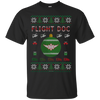 Image of Flight Doc Ugly Sweater Gildan Unisex Ultra Cotton T-Shirt