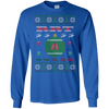 Image of RRT Ugly Sweater Gildan Unisex LS Ultra Cotton T-Shirt