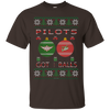Image of Pilots Got Balls Ugly Sweater Gildan Unisex Ultra Cotton T-Shirt