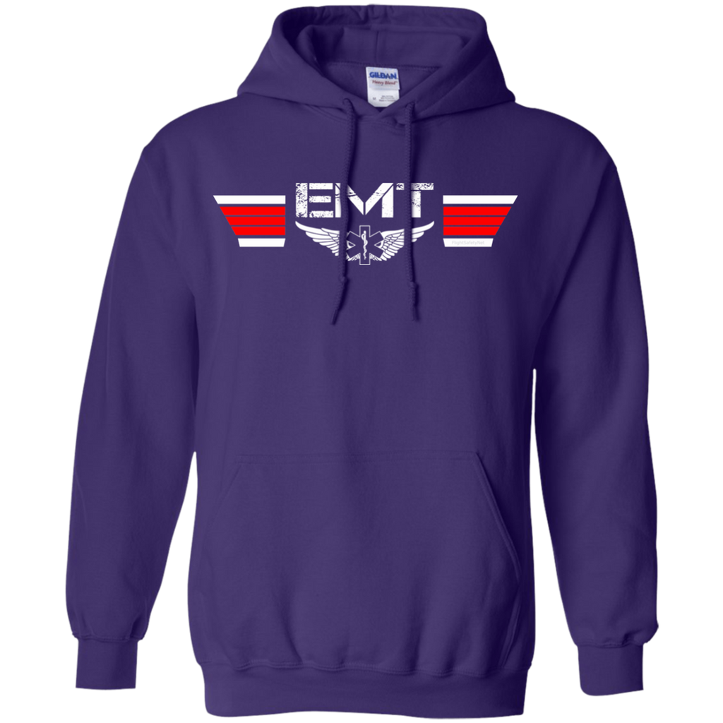 EMT Wings Heavyweight Pullover Hoodie 8 oz