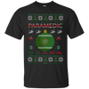 Image of Paramedic Ugly Sweater Gildan Unisex Ultra Cotton T-Shirt